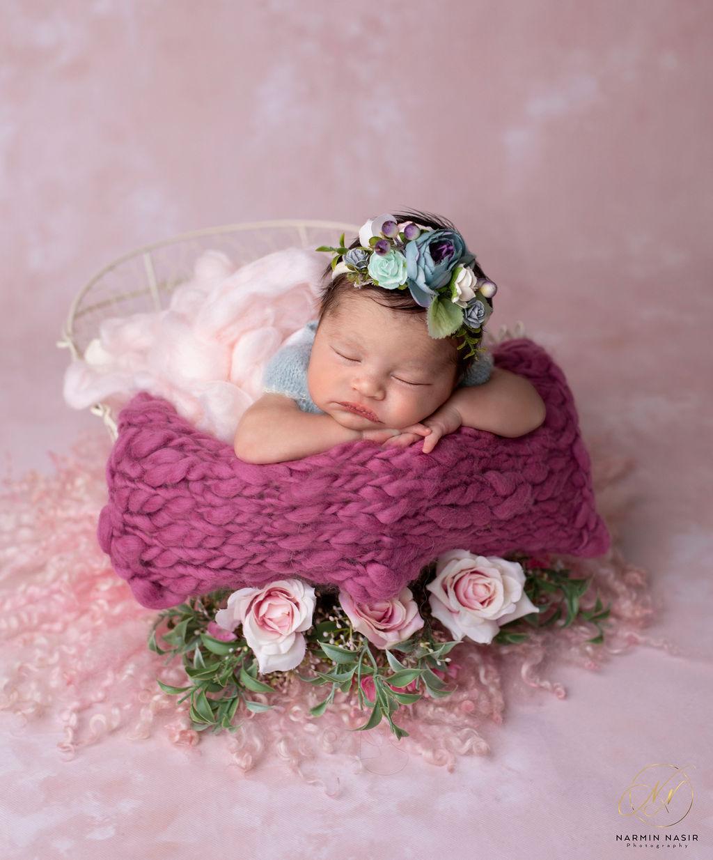 Chicago Newborn photography